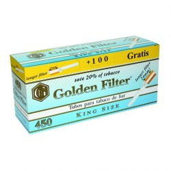 TUBOS GOLDEN FILTER EXTRALARGOS 550