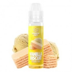 Vanilla Biscuit 50ml - Essential Vape by Bombo